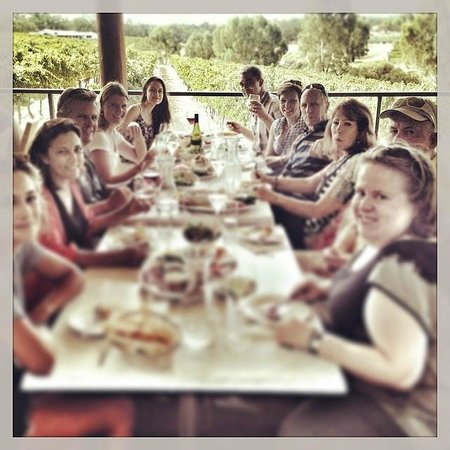 Out & About Wine Tours: Lunch at Sittella