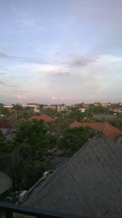 U Paasha Seminyak: View from deck