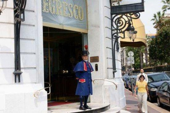 Hotel Negresco: il benvenuto :