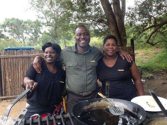 Tanda Tula Safari Camp: Tanda Tula staff