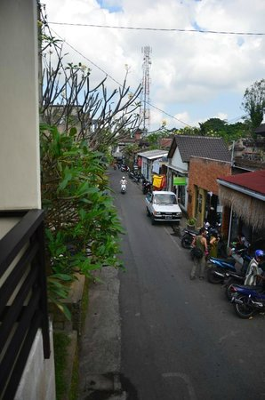 Melting Wok Warung: View from the place