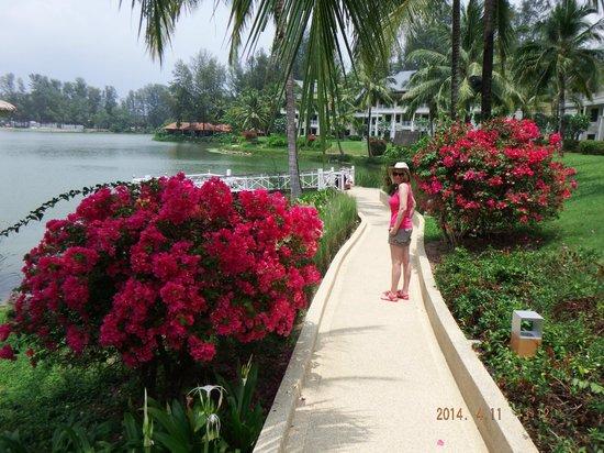 Outrigger Laguna Phuket Beach Resort: Stunning grounds