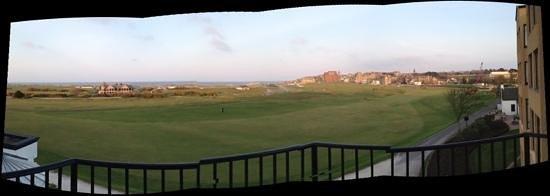 Old Course Hotel, Golf Resort & Spa: díme que mas quieres. room 228 con vistas al 17h.