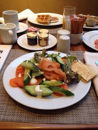 JW Marriott Bucharest Grand Hotel : Breakfast