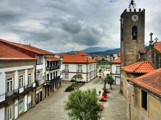 """Mercearia da Vila: The view from the """"Yellow Soap"""" room"""