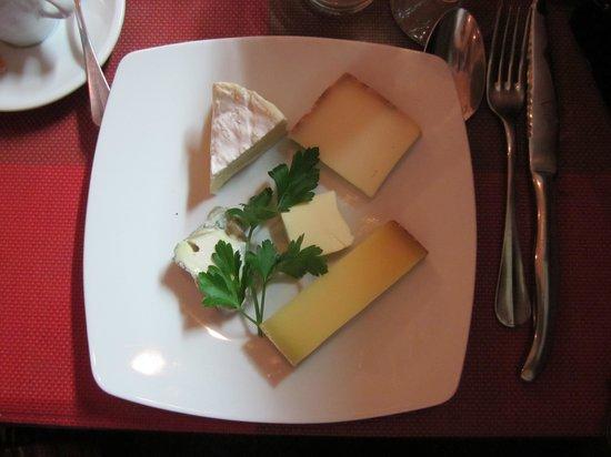 L'Ange 20 Restaurant : div. Käsesorten :)