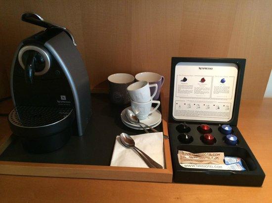 Swissotel Berlin: Kaffeeemaschine
