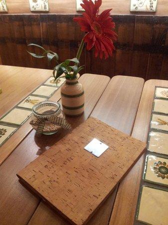 La Fett'Unta: menu e decori