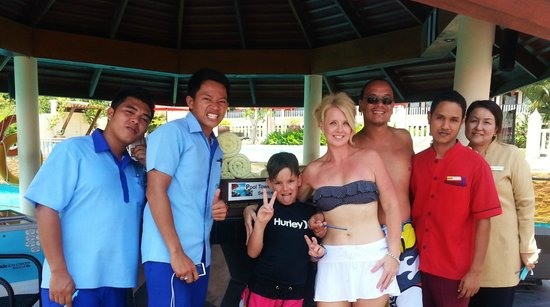 Aquamarine Resort & Villa: excellent staff