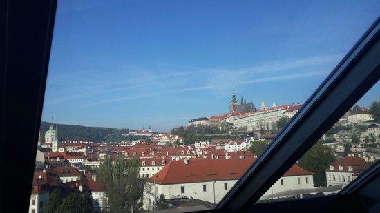 Hotel Klarov Prague : Вид из окна номера 502, супер номер