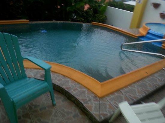 Habitat Terrace: Very small pool (ca 3m x 3m)