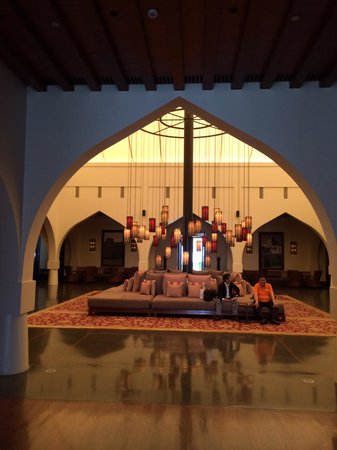 The Chedi Muscat – a GHM hotel: La hall
