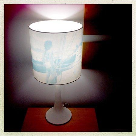 QT Port Douglas: cool bedside lamp