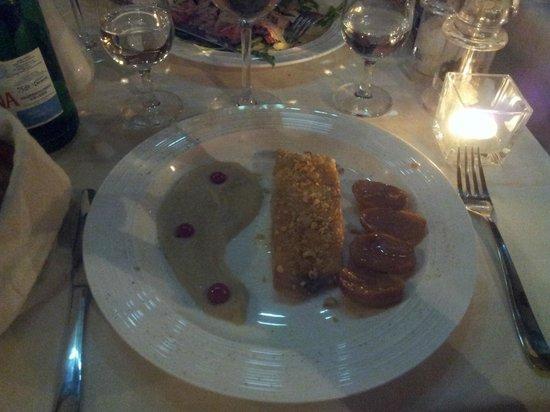 Enoteca Ai Artisti: the sea bass - with jerusalem artichoke puree and smoked potatoes