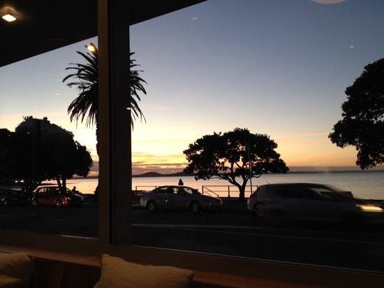 St Heliers Bay Cafe & Bistro: View from front tables