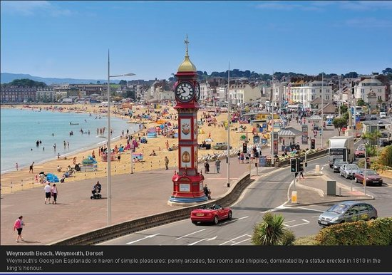 Sherborne Hotel Weymouth: Weymouth Beach