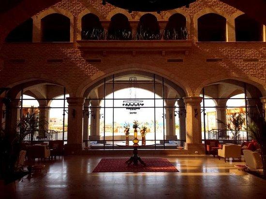 Kempinski Hotel Soma Bay: Hotel lobby