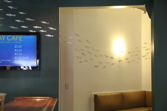 Aquarium of the Bay : Nice wall animations
