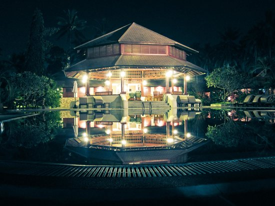 Smile House Resort: The Spa at night
