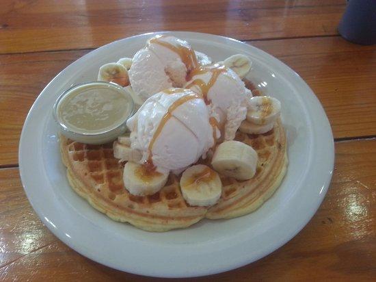 The Waffle Hut : Wow!