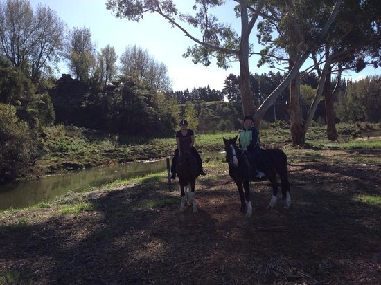 Briars Horse Trek : What better way to spend Easter Monday!