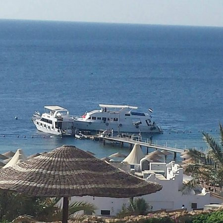 Domina Coral Bay Prestige Hotel: Boat trip that leaves from the hotel