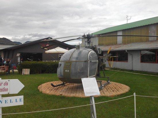 Musee Europeen de l'Aviation de Chasse : Hélicoptère