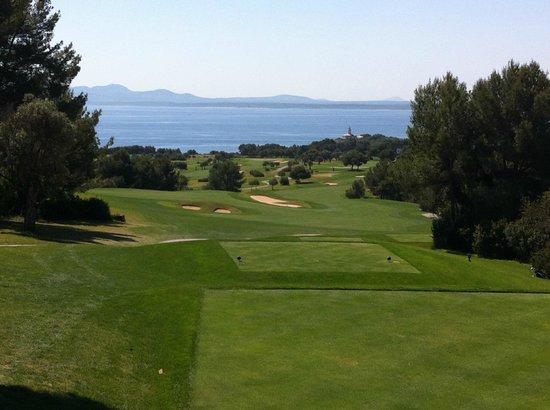 Alcanada Golf Club : View from tee