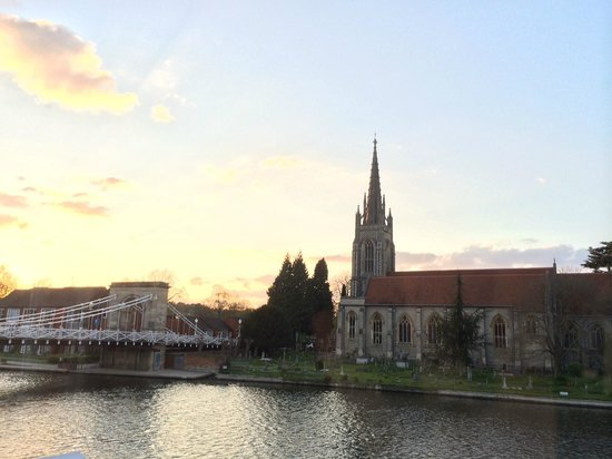 Macdonald Compleat Angler: View from room 12 - stunning.