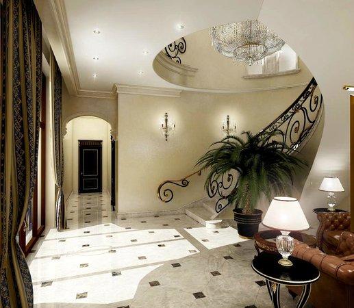 Villa Le Premier: Hotel area