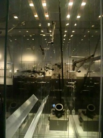 Culloden Battlefield: Interior del museo.