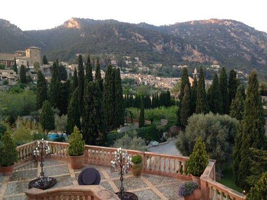 Valldemossa Hotel: Blick vom Zimmer