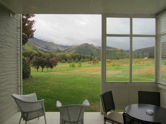 Millbrook Resort: Terrace view