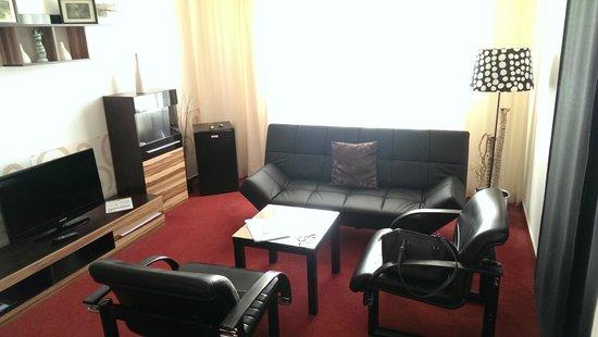 Parkhotel Morris Novy Bor : Room furniture