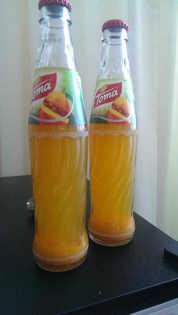 Parkhotel Morris Novy Bor : Expired juice