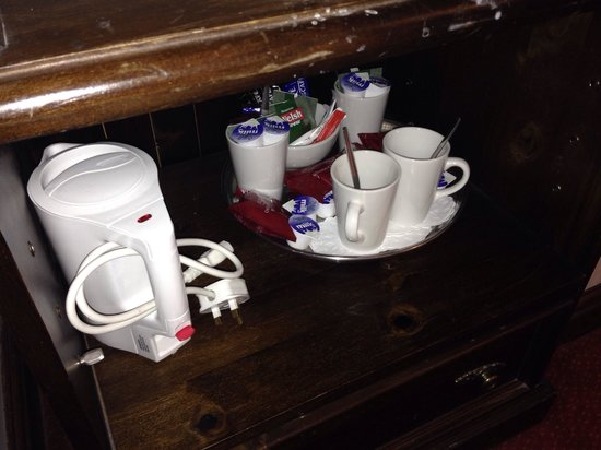 White Lion Royal Hotel: Coffee and tea selection