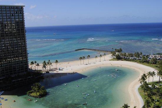 Ilikai Hotel & Luxury Suites : Lagoon View