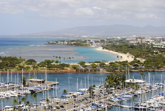Ilikai Hotel & Luxury Suites : Marina View