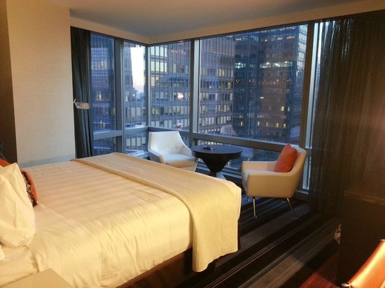 Courtyard by Marriott New York Manhattan/Central Park: Room with view