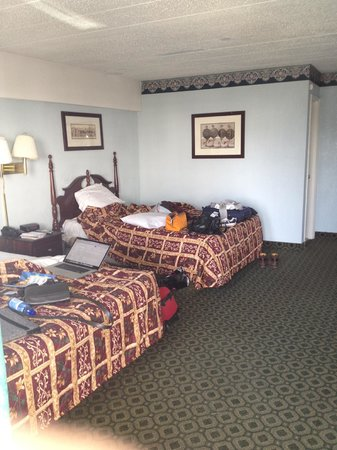 Red Carpet Inn Atlantic City : It doesn't even look bad in a picture