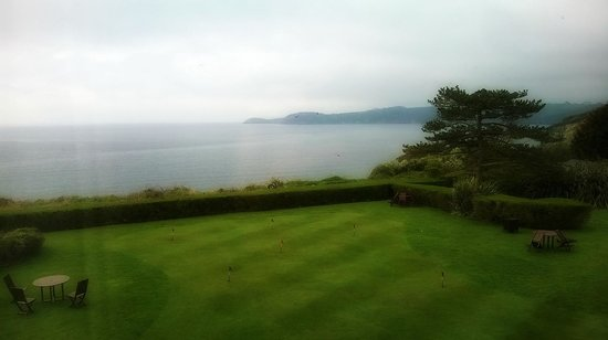 The Carlyon Bay: view from room
