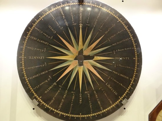 Museo Galileo - Institute and Museum of the History of Science: carte des vents