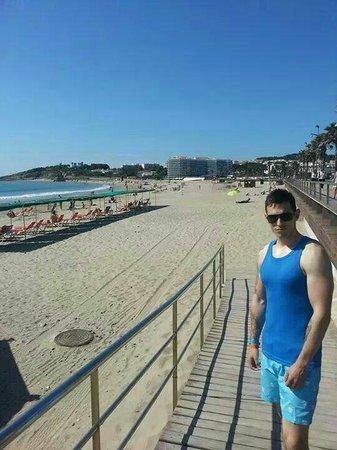 Estival Park Salou: La pinda beach  next to evistal park :)