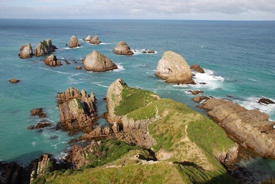 the nuggets at Nugget Point.