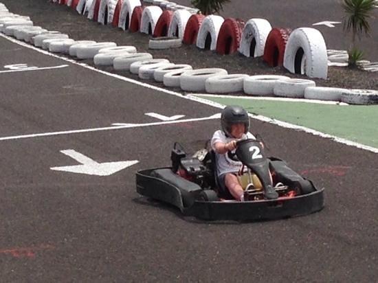 Go Karting San Bartolome: enjoyable day!,