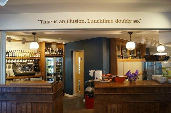 YHA Cambridge: Bar