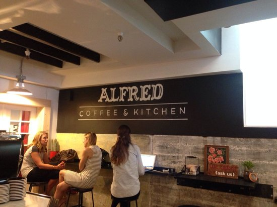 Photo of Cafe Alfred {Coffee & Kitchen} at 8428 Melrose Pl, Los Angeles, CA 90069, United States