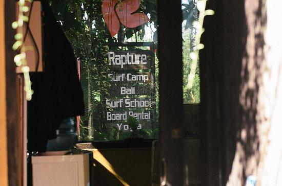 Rapture Surfcamp Bali : Rapture surfcamp