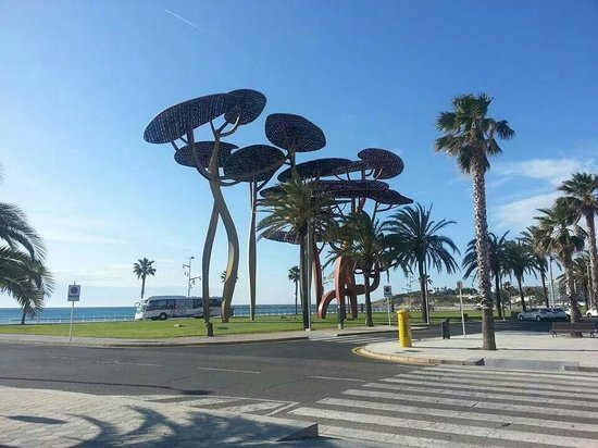 Estival Park Salou: La pinda  just outside evistal park :)