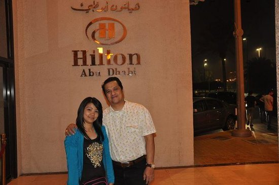 My Evaluation to Royal Orchid Restaurant, Hilton Hotel, Corniche, Abu Dhabi